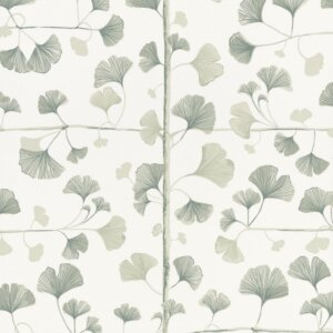 Tapeta Sand Berg kolekcja Ginkgo Light Green