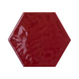 Płytki Tonalite Exabright kolor Bordeaux 15×17,1 cm