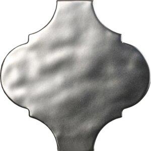 Płytki Tonalite Arabesque Satin Silver 14,5×14,5 cm