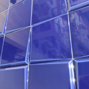 Płytki Tonalite Oblique kolor Blu 15×15