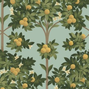Tapeta Cole & Son Orange Blossom Seville 117/6019