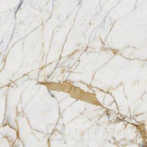 Płytka gresowa IH Selection A142045 biało-złoty 120×240 polerowana