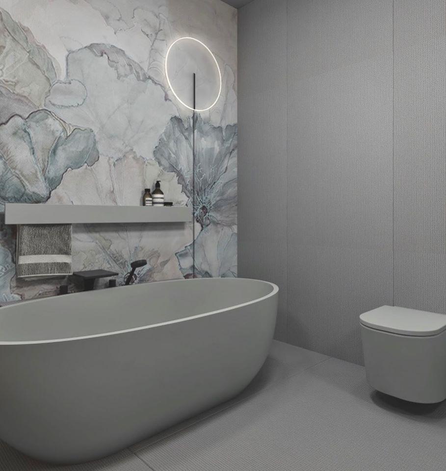 Projekt łazienki KK Architekci