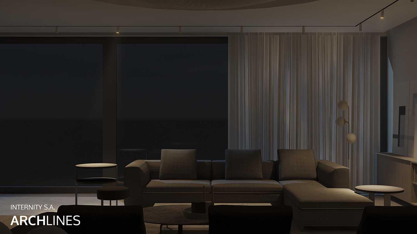 Oświetlenie Archlines dostępne w naszych salonach Internity Home i Prodesigne