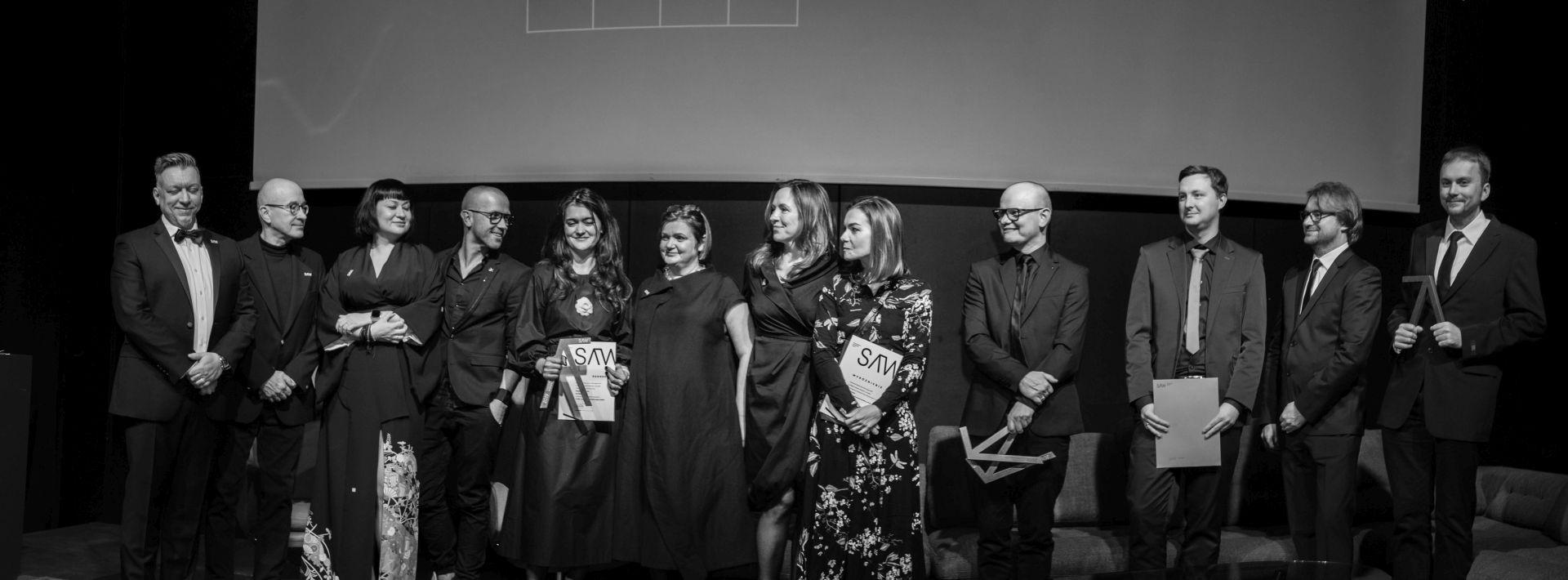 Wręczenie nagród | Gala Wnętrze Roku SAW