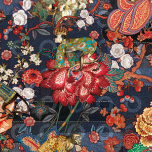 Tapeta Arte Moooi Wallcovering Tokyo Blue MO310 Indigo