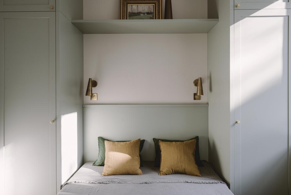 sypialnia w pastelach