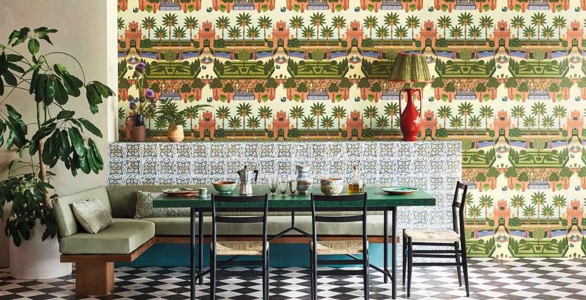 Tapety brytyjskiej marki Cole & Son są dostępne w showroomach z Grupy Internity Home