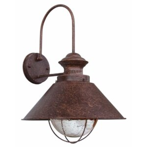 Lampa zewnętrzna Faro NÁUTICA-P Rust