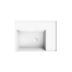 HushLab InLove umywalka wisząca z półką po lewej stronie 46×61