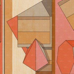 Tapeta Wall & Deco Contemporary 2020 Ortogonale WDOR2001