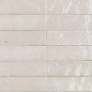 Płytki Marazzi kolekcja Lume White 6×24 cm