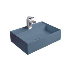 HushLab InLove umywalka wisząca 50S 50×35 kolor indigo matowy