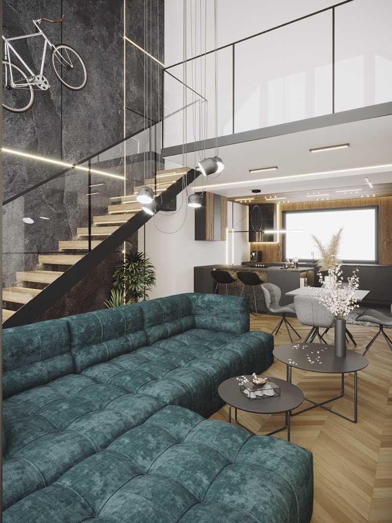 Salon | proj. Natalia Pęcka Dezeen Architekci