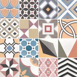 Płytki Equipe kolekcja Caprice Deco Patchwork Colours