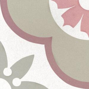 Płytki Equipe kolekcja Deco Flower Pastel