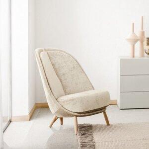 Fotel Pianca kolekcja Calatea design  Cristina Celestino