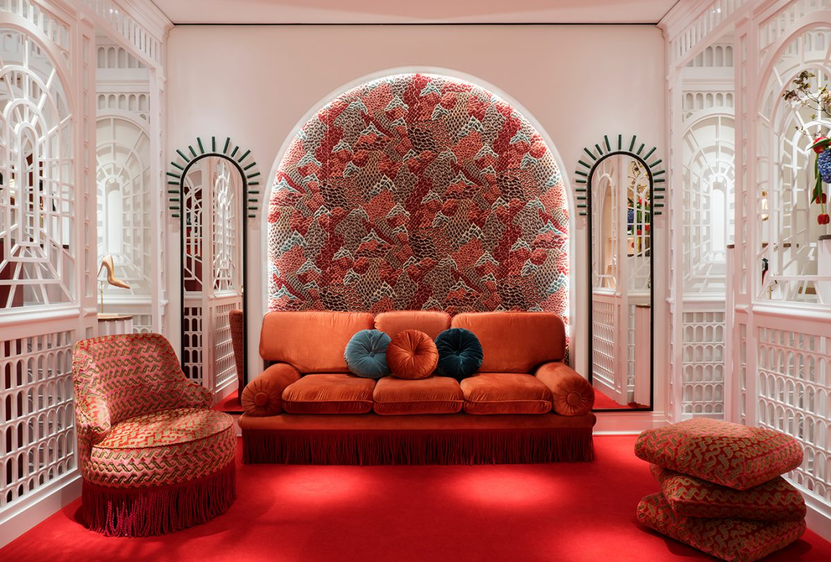 wnętrza w kolorach terakoty