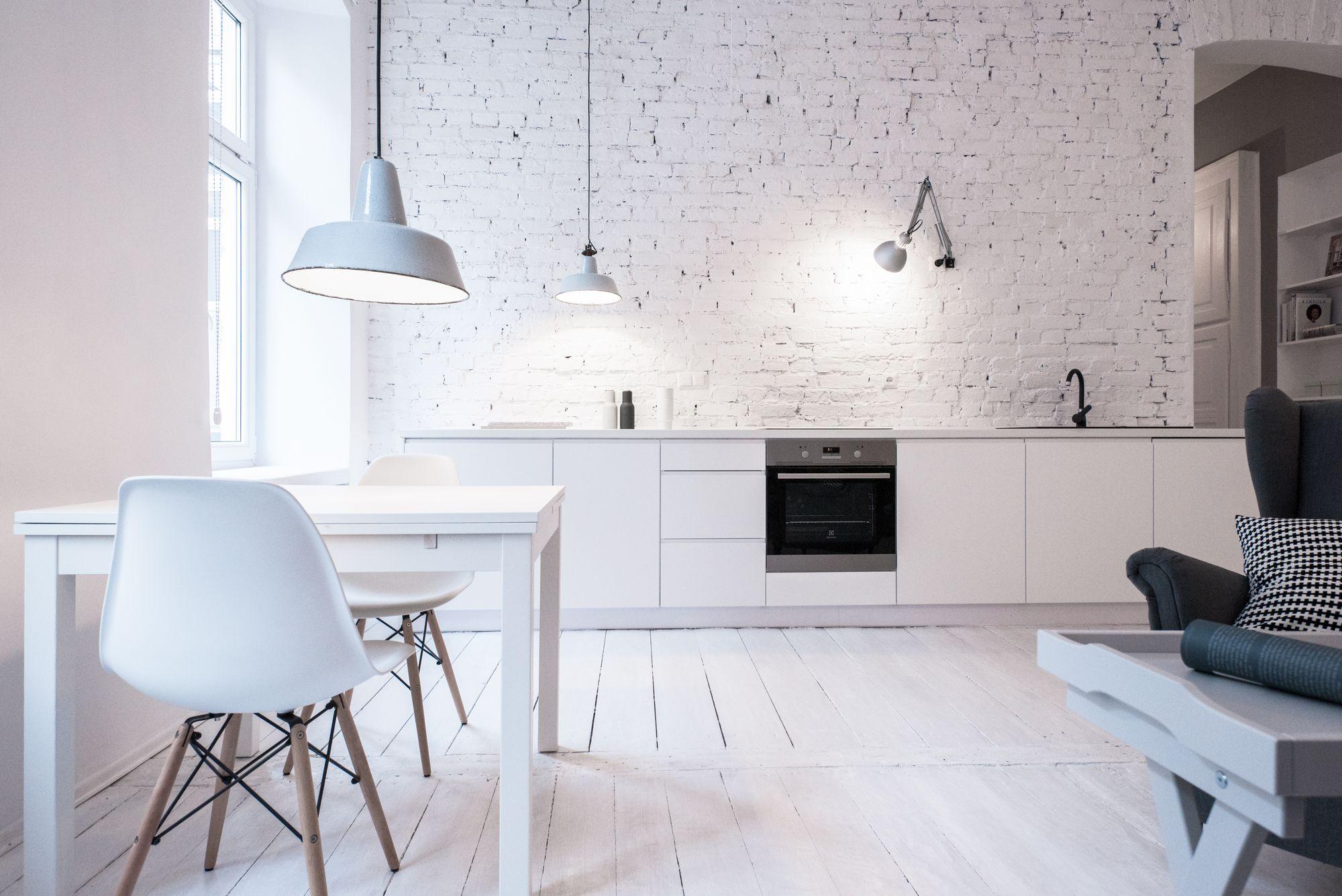 Scandilove | Kuchnia biała po metamorfozie