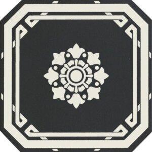 Płytki Grazia kolekcja Old England OTTAGONO BLACK DOVER