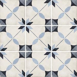 Płytki Equipe kolekcja Art Nouveau seria Arcade Blue