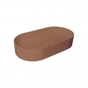 HushLab SLIM 65 umywalka 65X34, 5 kolor kawowy matowy