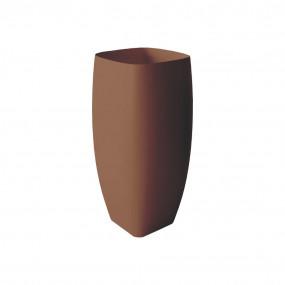 HushLab Run umywalka stojąca 45×40 kolor kawowy matowy