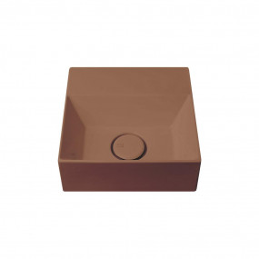 HushLab Small 30 umywalka wisząca 30×30 kolor kawowy matowy