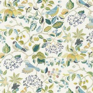 Tkanina dekoracyjna Sanderson kolekcja BIRDS & BERRIES