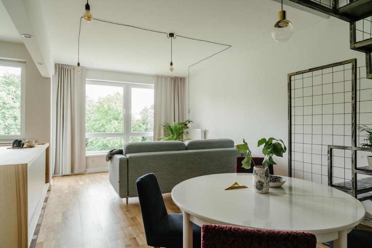 Dwupoziomowe mieszkanie