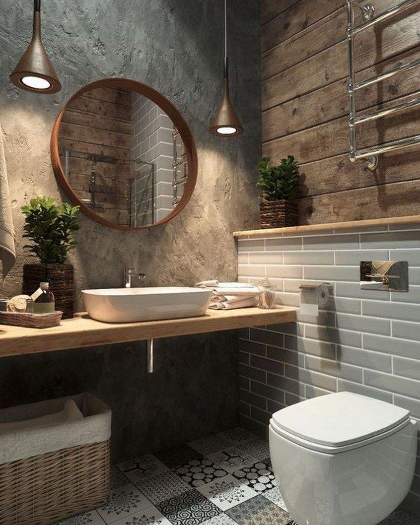 Łazienka w klimatach industrialnych
