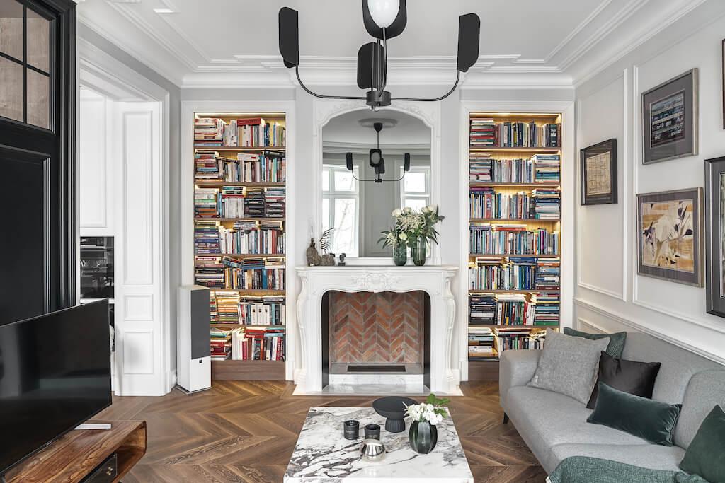 Wnętrza w stylu paryskim
