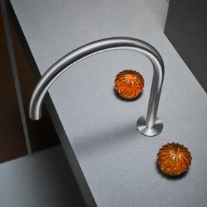 Bateria umywalkowa 3 otworowa Radomonte kolekcja Dorin