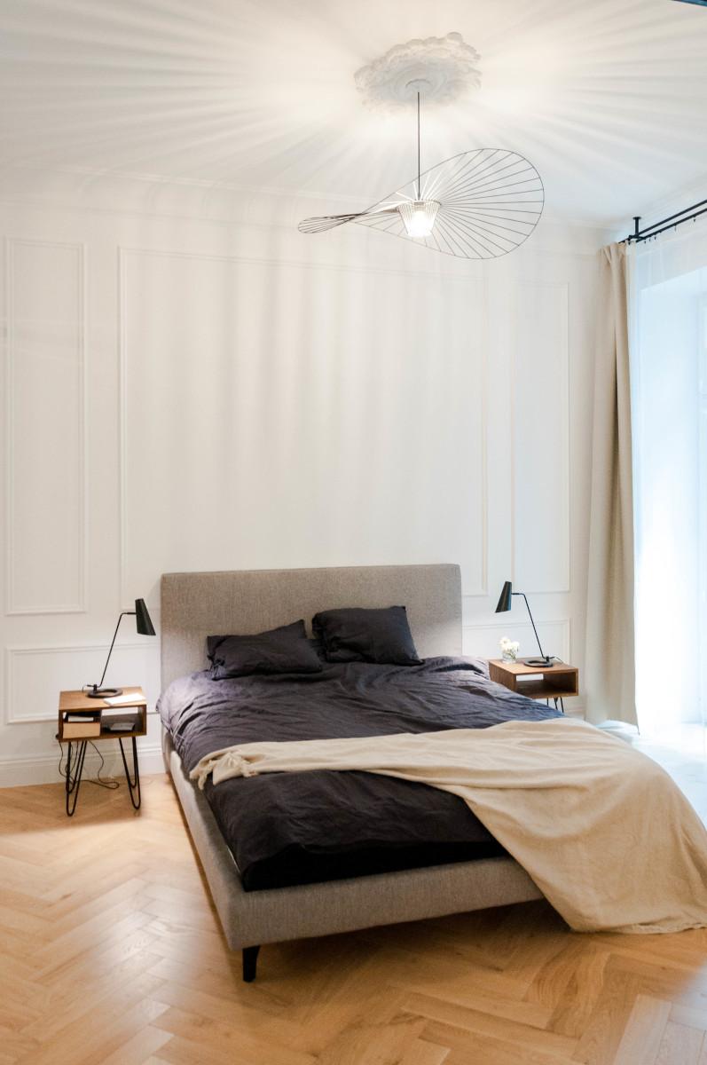 Sypialnia | proj. Studio Projektowe 4room (architekt wnętrz Lisa Bachurina)