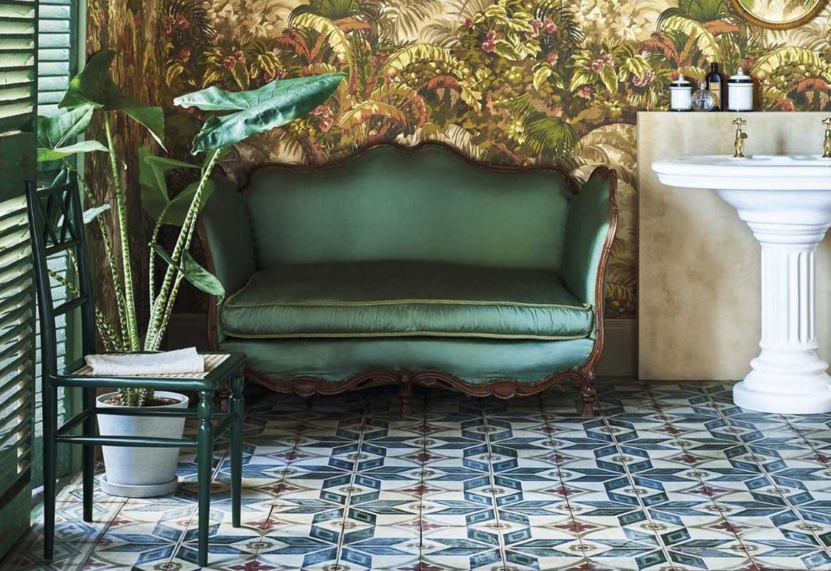 łazienka w stylu wiktoriańskim