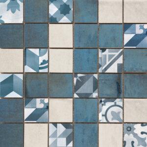 Płytki Cifre kolekcja Mosaico Montblanc Blue Mosaico Montblanc Blue