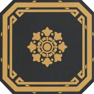 Płytki Grazia kolekcja Old England OEODB2_OTTAGONO BLACK LEEDS