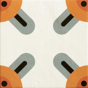 Płytki Mutina kolekcja Mattonelle Margherita seria Corners 20,5 x 20,5 cm