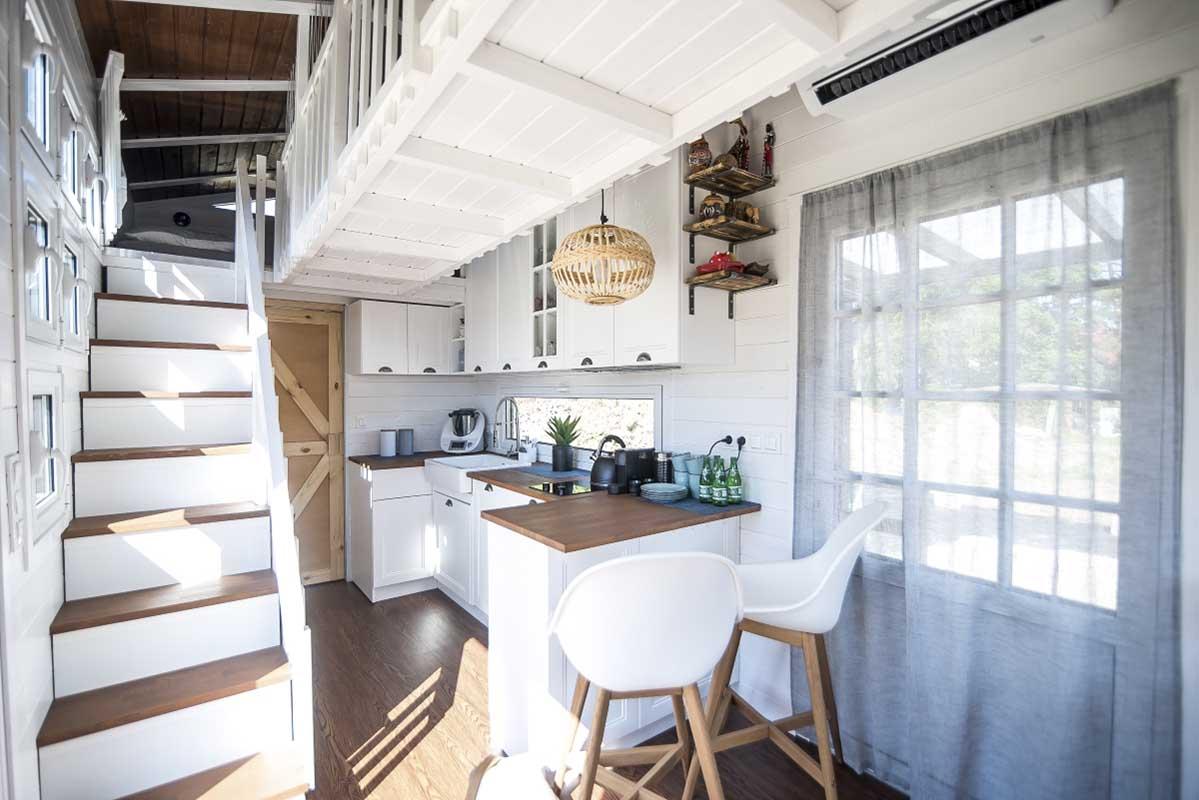 Całoroczny mikro domek