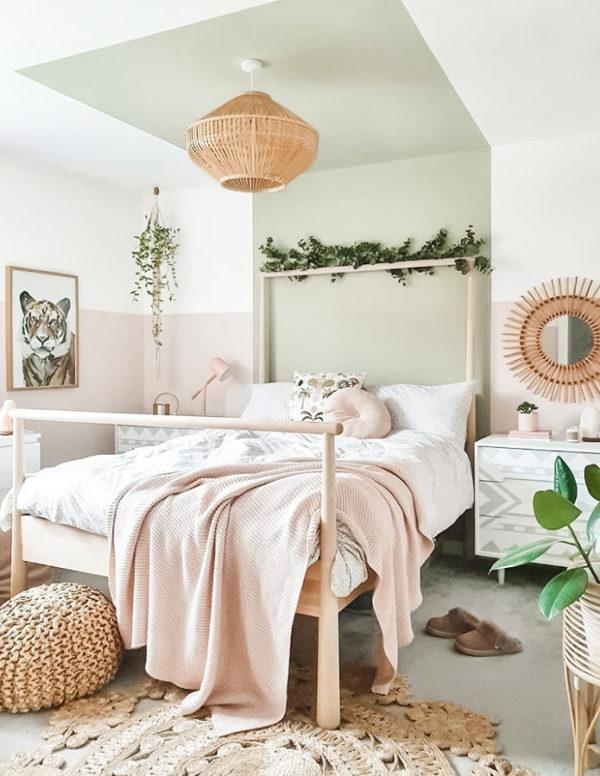 Niezwykle przytulna aranżacja sypialni
