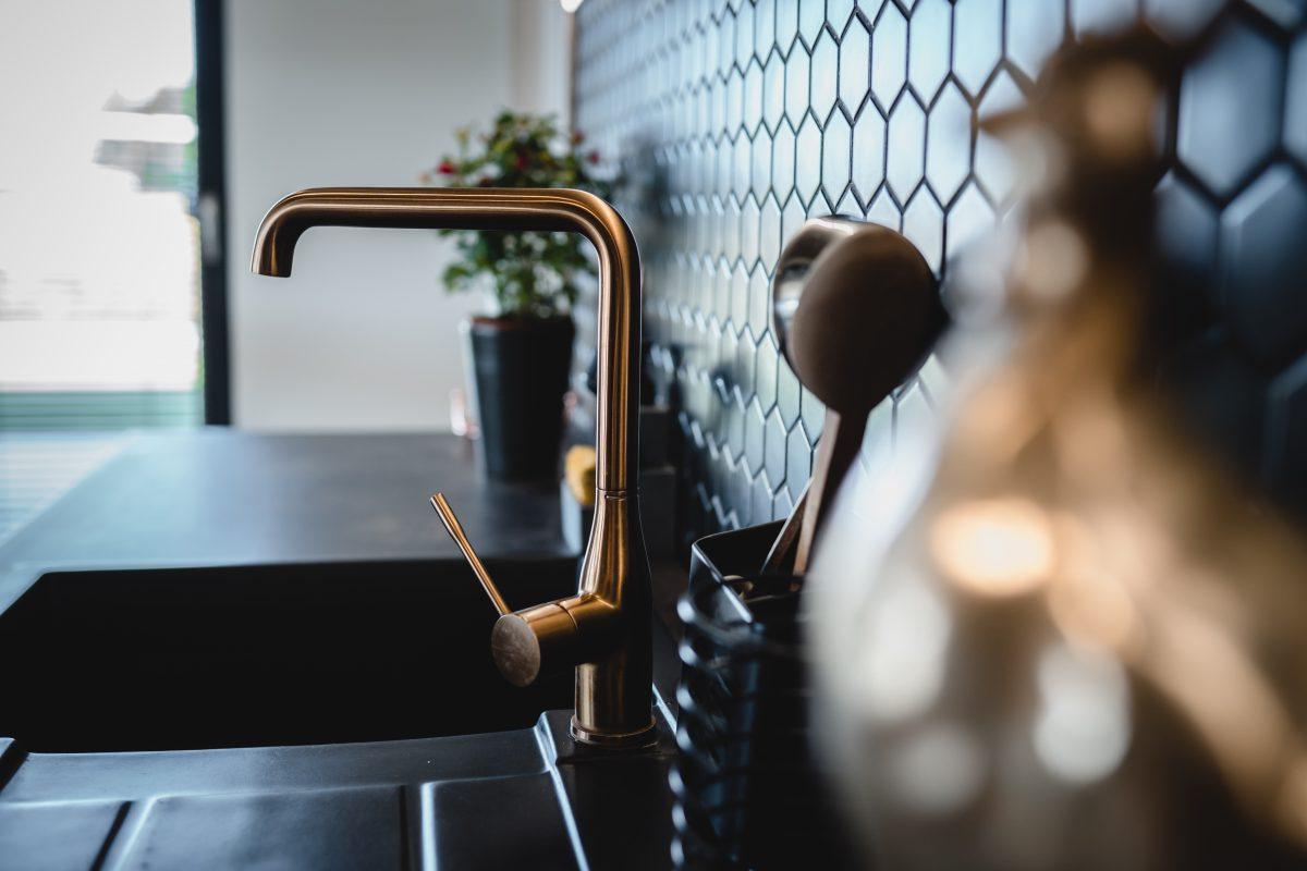 Detale w kuchni | projekt: arch. Marlena Kłos, fot.: Barbara Rompska