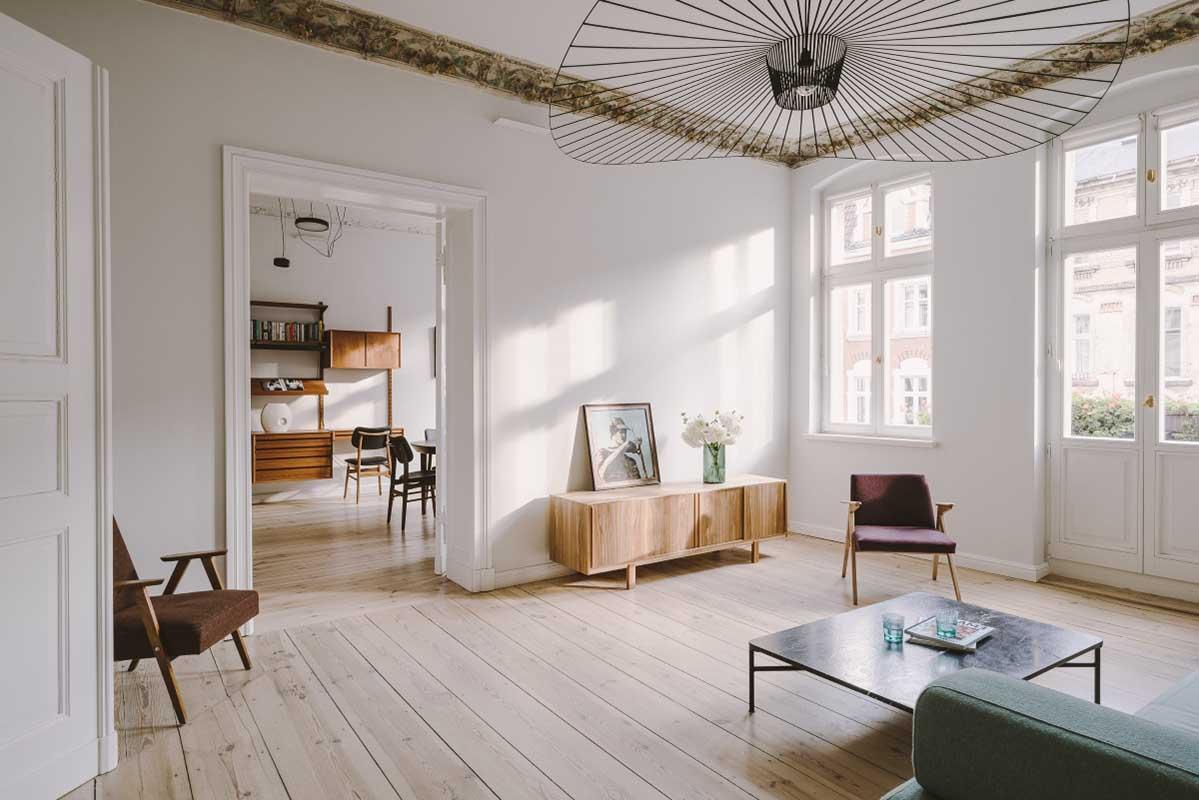 mieszkanie z sztukaterią