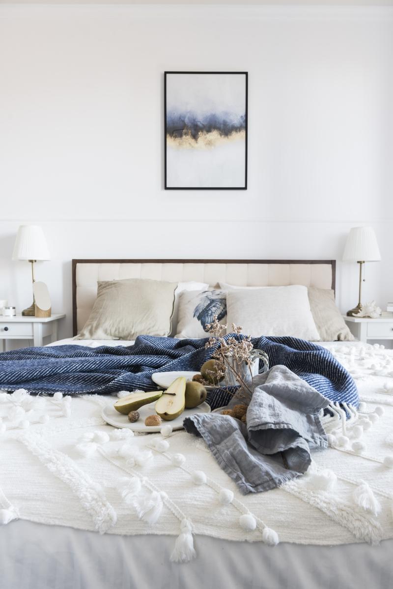 Wakacyjny klimat w sypialni
