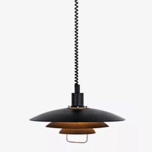 Lampa wisząca Markslojd KIRKENES – Black