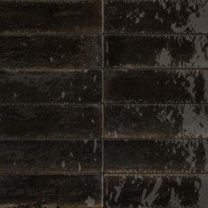 Płytka ceramiczna IH Selection A671632 czarny 6×24 błyszcząca