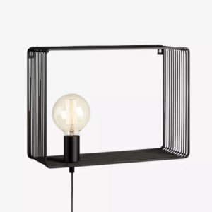 Markslojd Lampa Ścienna SHELF Black