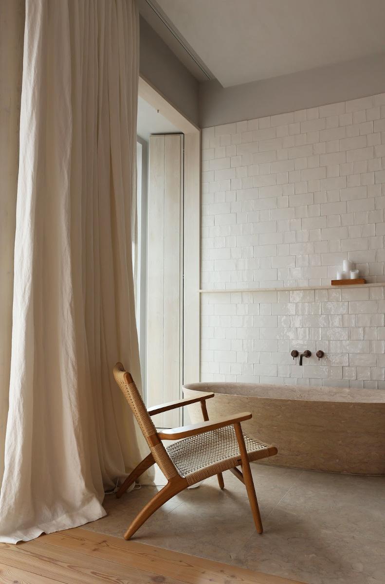 Pomysł na beżową łazienkę