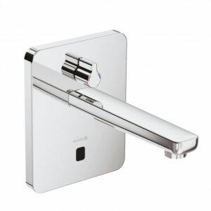 KLUDI ZENTA DN 15 Elektroniczna bateria umywalkowa z kwadratową rozetą