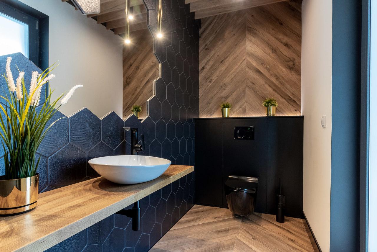 240 metrowy DOM W WĘGRZCACH | Proj: Studio 4design.