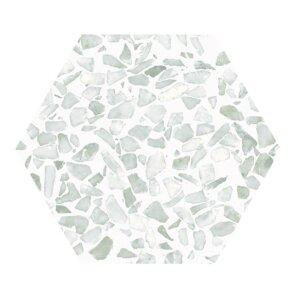 Płytki Cifre kolekcja Riazza Hex Green 23,2×26,7 cm
